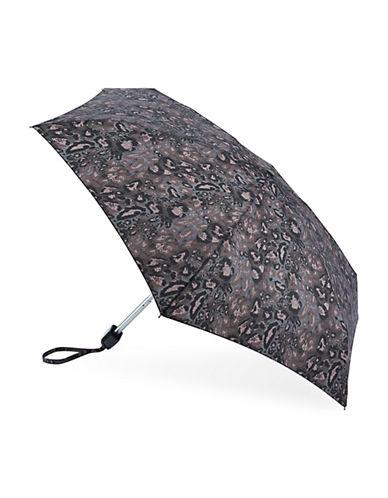 Fulton Printed Umbrella-LEOPARD-One Size
