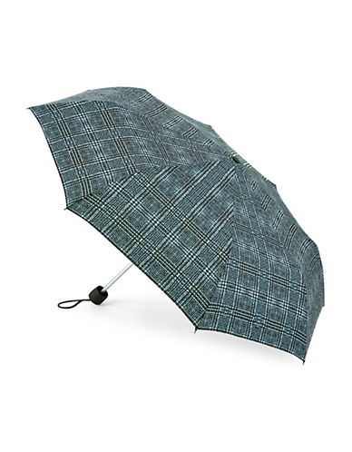 Fulton Superslim Number 2 Lattice Umbrella-TWEED-One Size