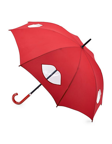 Lulu Guinness Kensington2 Harlequin Umbrella-LIPS-One Size