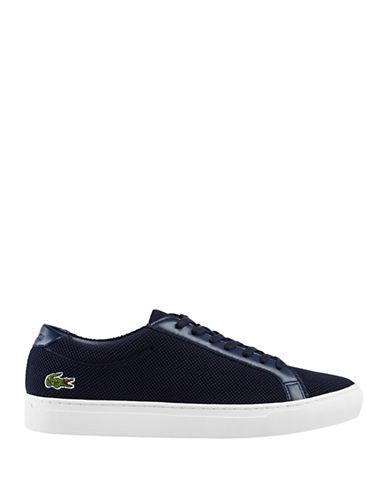 Lacoste L.12.12 Pique Sneakers-BLUE-8.5