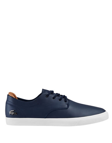 Lacoste Leather Sneakers-BLUE-9