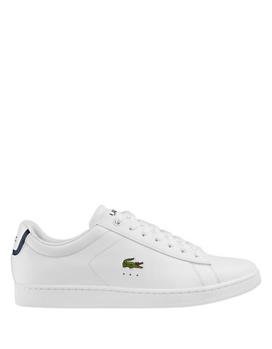 Lacoste Carnaby Evo Tennis Sneakers-WHITE-10.5