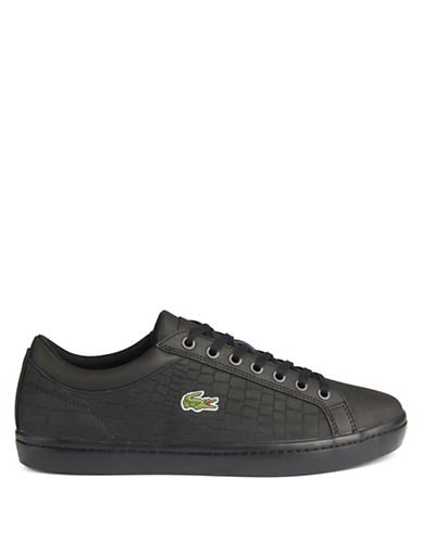 Lacoste Ortholite Court-Inspired Sneakers-BLACK-7