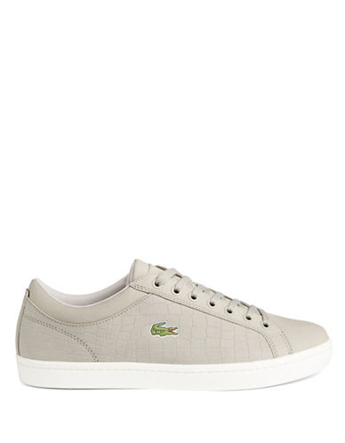 Lacoste Ortholite Court-Inspired Sneakers-GREY-10.5