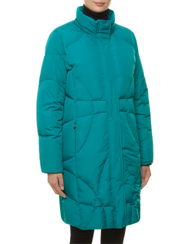 Windsmoor Padded Raincoat-TURQUOISE-X-Small plus size,  plus size fashion plus size appare