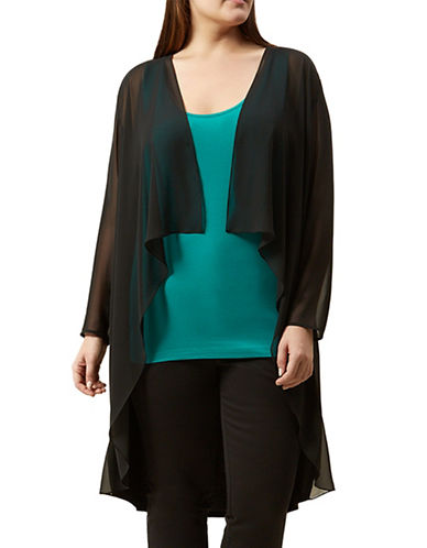 Windsmoor Long Flutter Front Cardigan-BLACK-Small 87755615_BLACK_Small