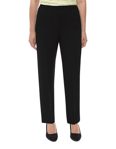 Eastex Straight-Leg Trousers-BLACK-UK 16/US 14