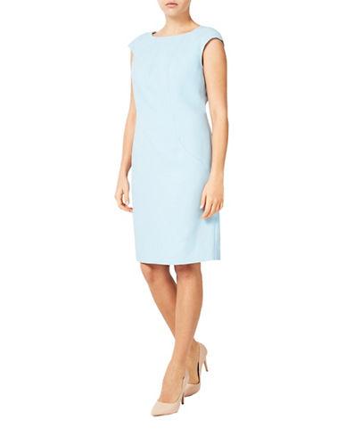 Windsmoor Paul Costelloe Kempton Dress-BLUE-UK 12/US 10