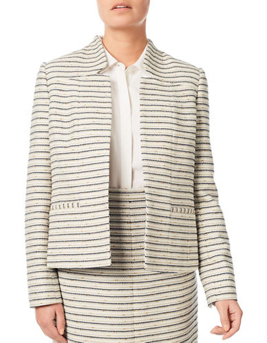 Eastex Tweed Jacket-CREAM-UK 16/US 14