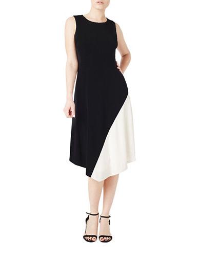 Precis Petite Andrea Mono Flippy A-Line Dress-BLACK-UK 12/US 10 88938285_BLACK_UK 12/US 10