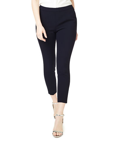 Precis Petite Olivia Cropped Trousers-BLUE-UK 8/US 6