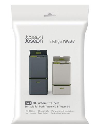 Joseph Joseph 20-Pack Totem Waste Bags-BLACK-One Size