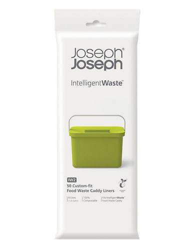 Joseph Joseph 50-Pack Totem Compost Bags-WHITE-One Size