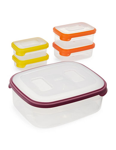 Fusion Five-Piece Nesting Container Set-ASSORTED-One Size