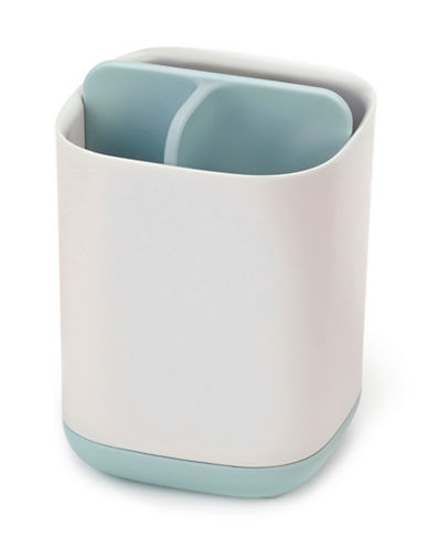 Joseph Joseph Two-Tone Toothbrush Caddy-BLUE-One Size