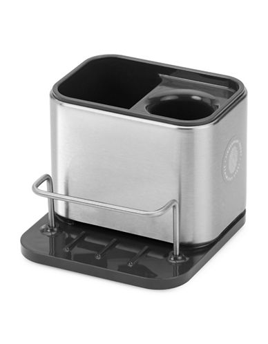 Joseph Joseph Surface Stainless Steel Sink Tidy-SILVER-One Size