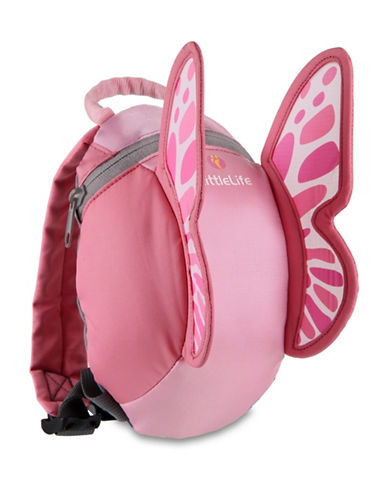 Littlelife Butterfly  Toddler Daysack-PINK-3