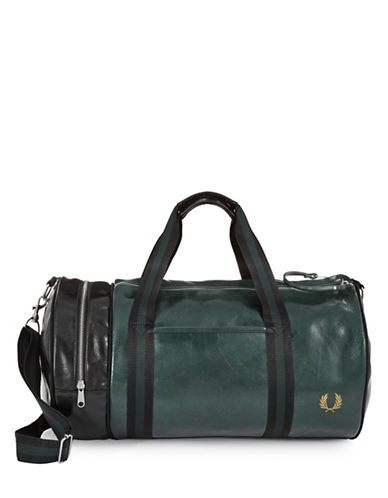 Fred Perry Barrel Bag-GREEN-One Size
