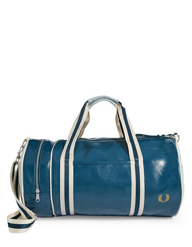 Fred Perry Barrel Bag-BLUE-One Size