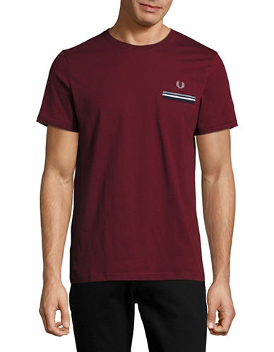 Fred Perry Twin Tip T-Shirt-RED-Large 89071511_RED_Large