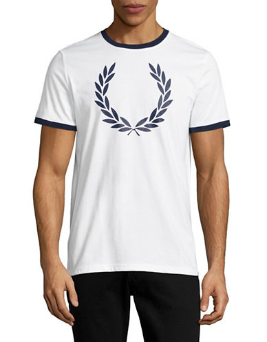 Fred Perry Laurel Wreath T-Shirt-WHITE-Large 89071473_WHITE_Large