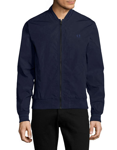 Fred Perry Bomber Jacket-BLUE-Large 89071427_BLUE_Large