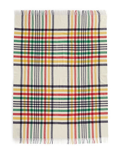 HudsonS Bay Company SCOTTISH TARTAN THROW-MULTI-One Size
