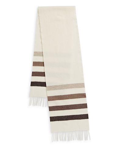 HudsonS Bay Company Millennium Stripe Everyday Wool Scarf-MILLENNIUM-One Size
