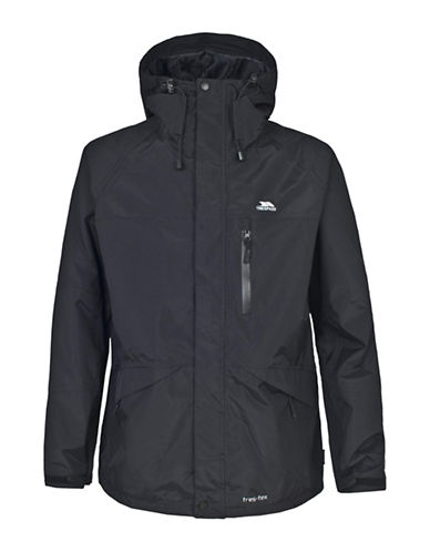 Trespass Corvo Solid Jacket-BLACK-Large