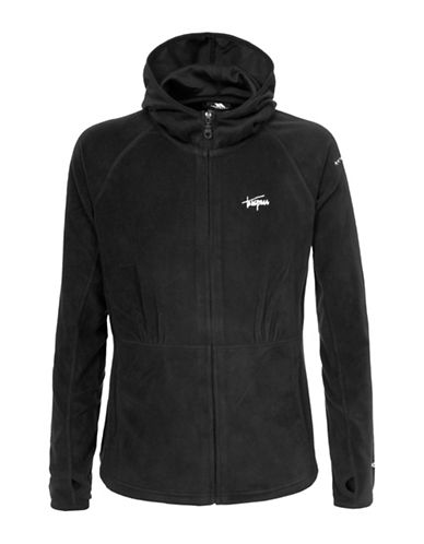 Trespass Marathon Microfleece Hoodie-BLACK-XX-Small 88619165_BLACK_XX-Small