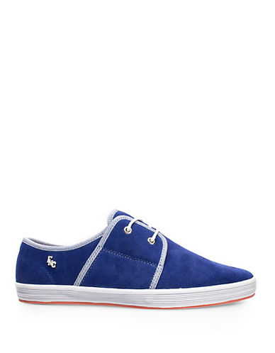 Fish N Chips Spam 2 Suede Sneakers-BLUE-EU 43/US 10