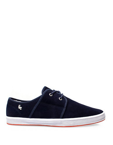 Fish N Chips Spam 2 Suede Sneakers-NAVY-EU 40/US 7