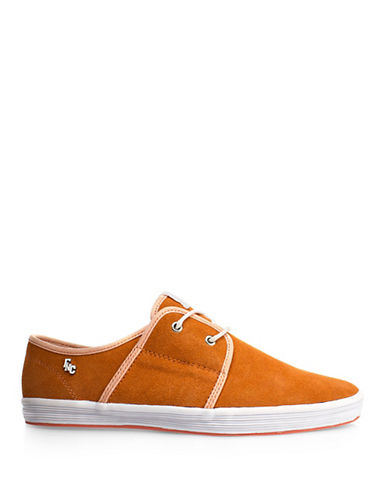 Fish N Chips Spam 2 Suede Sneakers-ORANGE-EU 41/US 8
