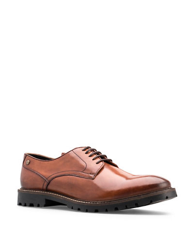 Base London Barrage Leather Oxfords-BEIGE-EU 43/US 10