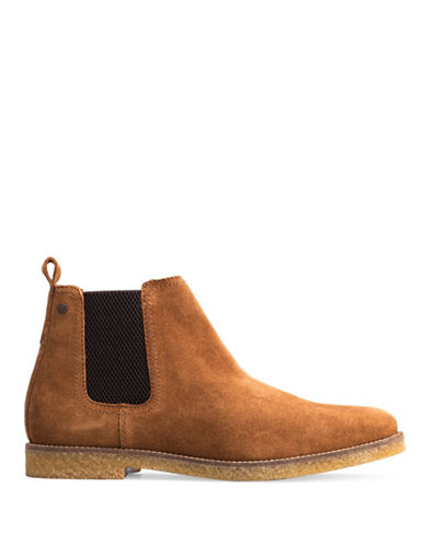Base London Ferdinand Leather Chelsea Boots-TAN-EU 40/US 7