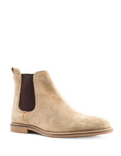 Base London Ashdown Suede Chelsea Boots-BEIGE-EU 42/US 9