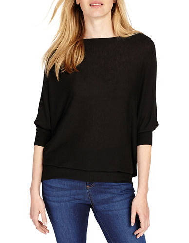 Phase Eight Becca Wool-Blend Sweater-BLACK-4