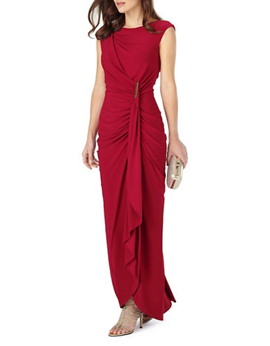 Phase Eight Donna Sleeveless Gown-RED-UK 18/US 14