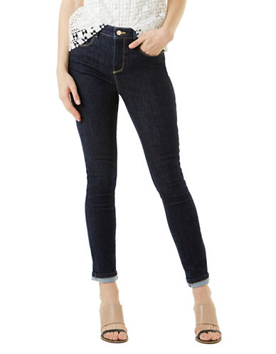 Phase Eight Aida Cropped Jeans-BLUE-UK 12/US 8