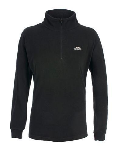 Trespass Louviers Fleece Jacket-BLACK-9/10