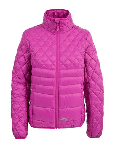 Trespass Ollo Down Puffer Jacket-PINK-X-Large 88695552_PINK_X-Large