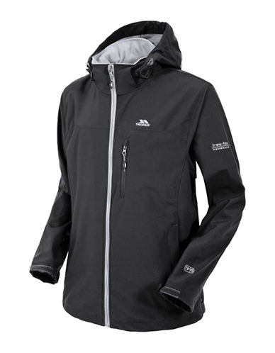 Trespass Stanford Softshell Jacket-BLACK-X-Large 88943231_BLACK_X-Large