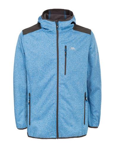 Trespass Mathew Hooded Softshell Jacket-BLUE-Small 88570194_BLUE_Small