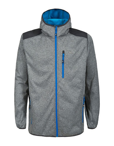 Trespass Mathew Hooded Softshell Jacket-GREY-Large 88570186_GREY_Large