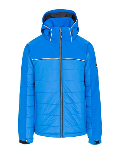 Trespass Drafted Windproof Jacket-BLUE-Medium