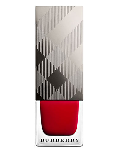 Burberry Nail Polish-300 MILITARY RED-One Size