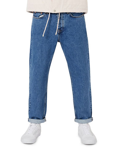 Topman Original Fit Jeans-BLUE-36