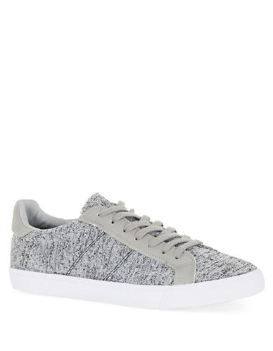 Topman Knit Low Sneakers-GREY-46