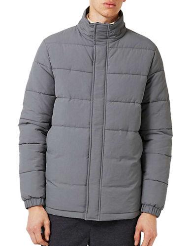 Topman Premium Puffer Jacket-GREY-Medium 88957385_GREY_Medium