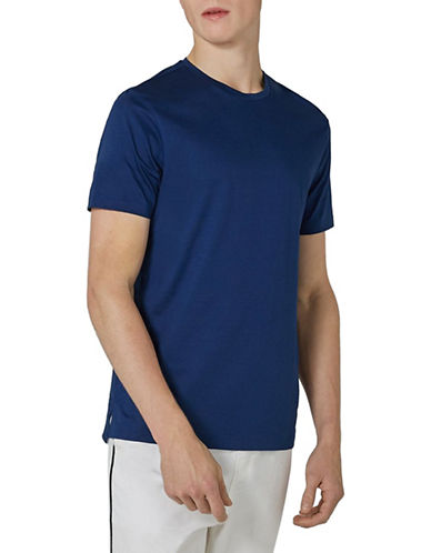 Topman Premium T-Shirt-DARK BLUE-Medium